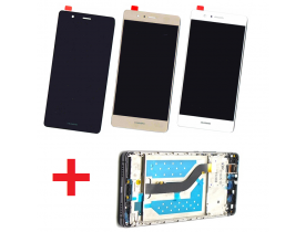 Dispaly Lcd + Touch screen + frame vetro per Huawei P9 Lite