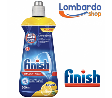 Finish brillantante 5x Power Action limone cura lavastoviglie da 500 ml