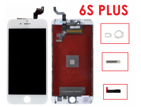Touch screen vetro display schermo lcd retina per Apple iPhone 6S Plus Bianco