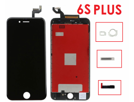 Touch screen vetro display schermo lcd retina per Apple iPhone 6S Plus Nero