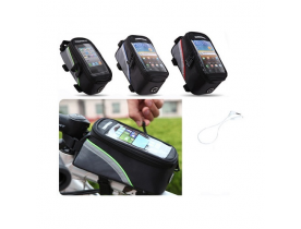 Supporto bici borsa custodia per cellulari touch screen