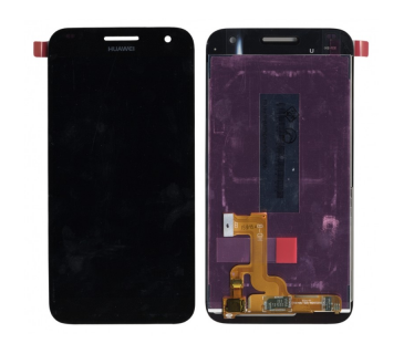 Display lcd + touch screen vetro per HUAWEI ASCEND G7 nero