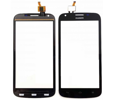Touch screen vetro display per HUAWEI ASCEND Y600 nero black