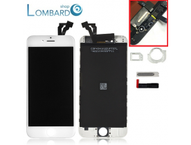 Touch screen frame vetro schermo lcd display retina per Apple iPhone 6 bianco