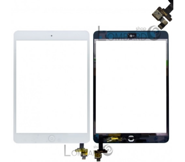 Touch screen per Apple IPAD MINI pannello vetro con connettore IC WIFI 3G
