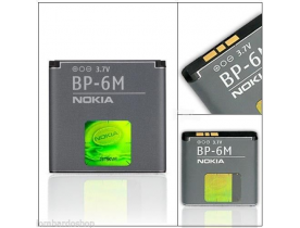 Batteria BP-6M Originale Nokia 9300,N73,N77,6233,6288,6151,N93,6280,9300