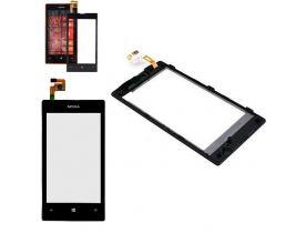 Touch screen vetro per Nokia Lumia 520 + frame