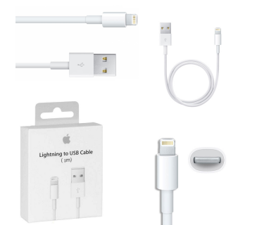 Cavo dati usb originale Apple per IPHONE 5 5C 5S 6 6S 7 IPAD MINI con scatola